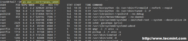 Customize ps Command Output