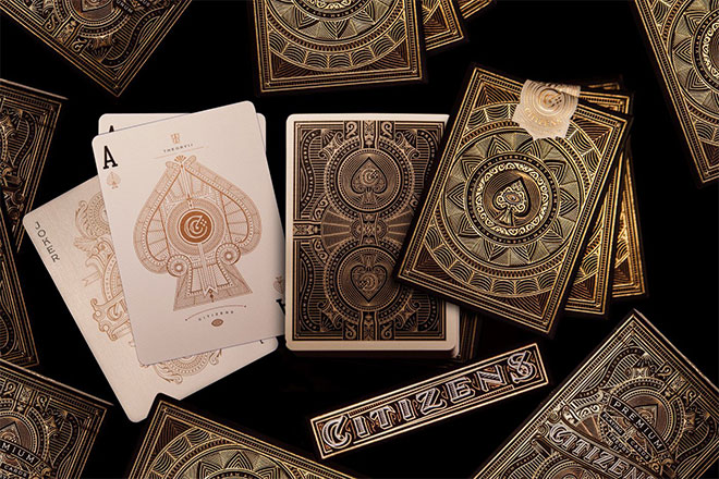 Citizens Playing Cards by Kevin Cantrell