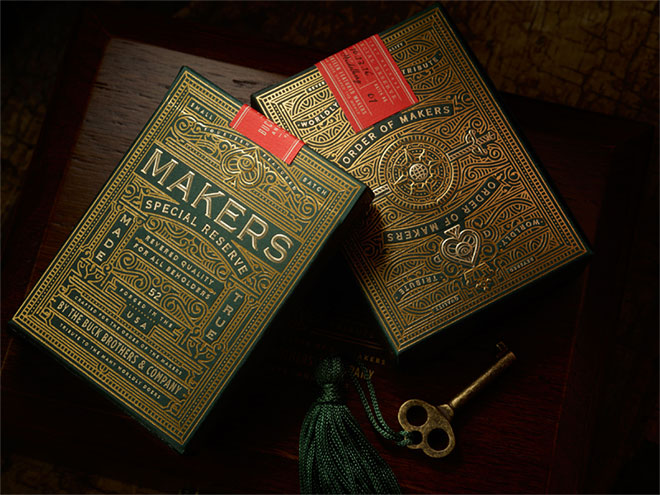 Makers Playing Cards by Chad Michael