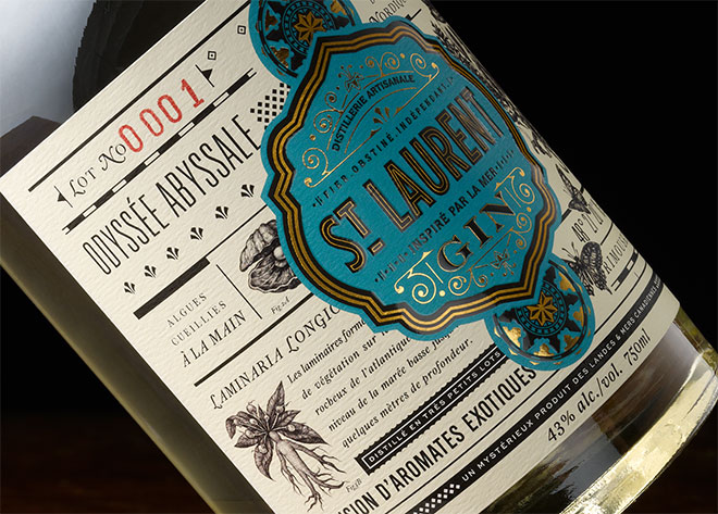 St. Laurent Gin by Chad Michael Studio