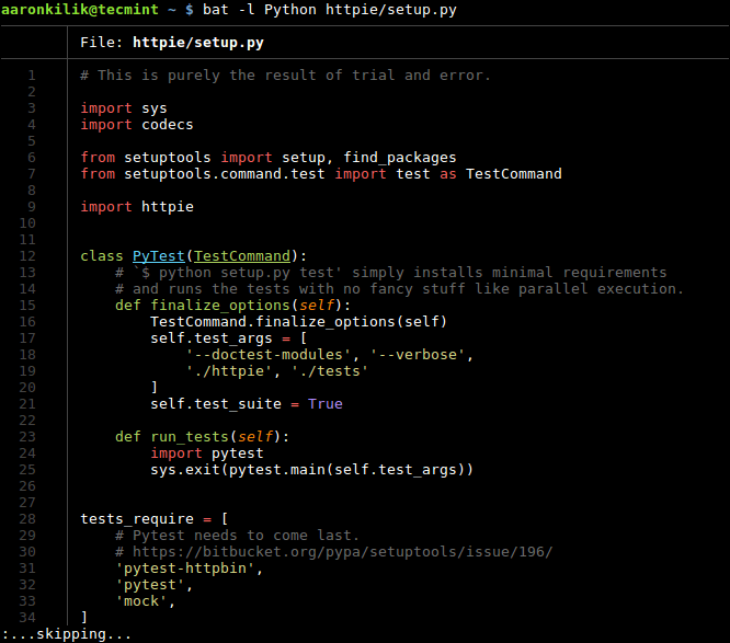 Set Language for Syntax Highlighting