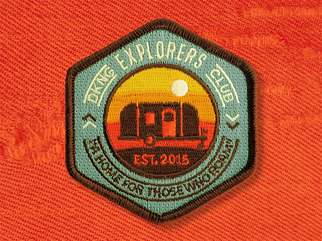 Explorer Club Patch by DKNG