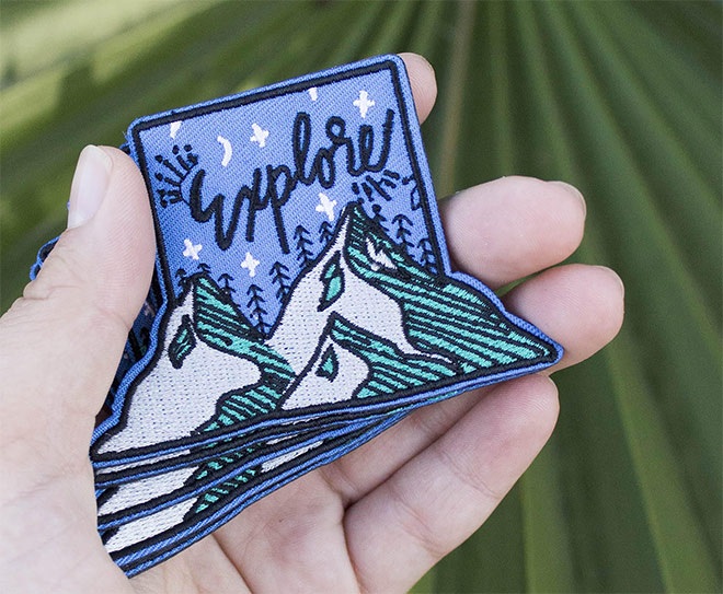 The Explorer Outdoor + Adventure Patch by Unexpected Type