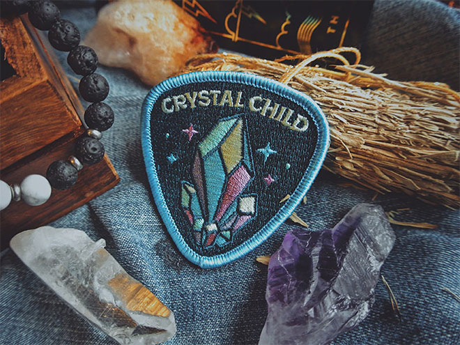 Crystal Child Patch by Jeff Finley