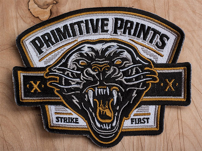 Strike First Patch by Derrick Castle