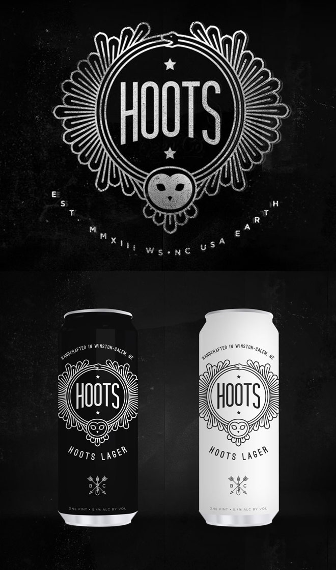 Hoots Beer Company by Airtype