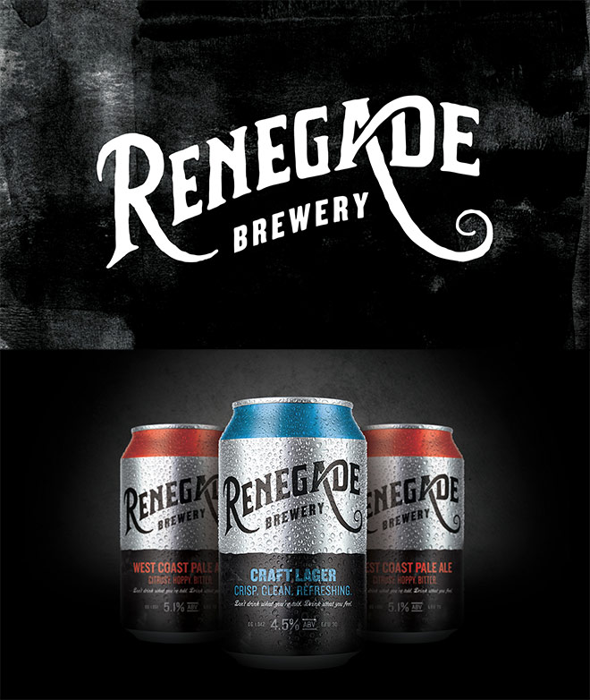 Renegade Brewery by Colt Design Agency