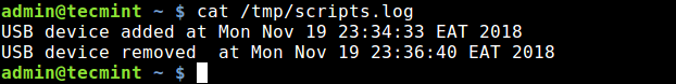 Check Scripts Log After Removing USB
