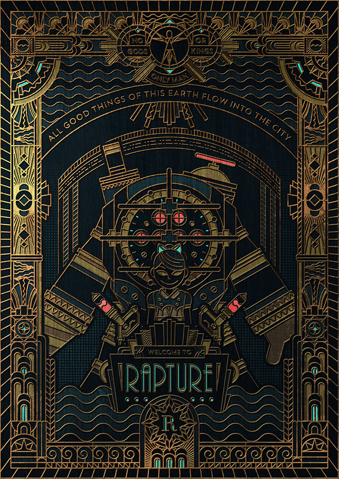 BioShock: Rapture by James Bernabe