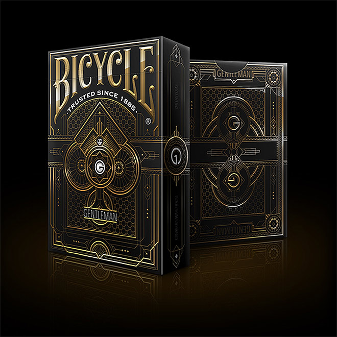 Bicycle: Gentlemen Playing Cards by Charles A.P.