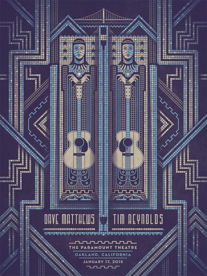 Reynolds Oakland Poster by DKNG