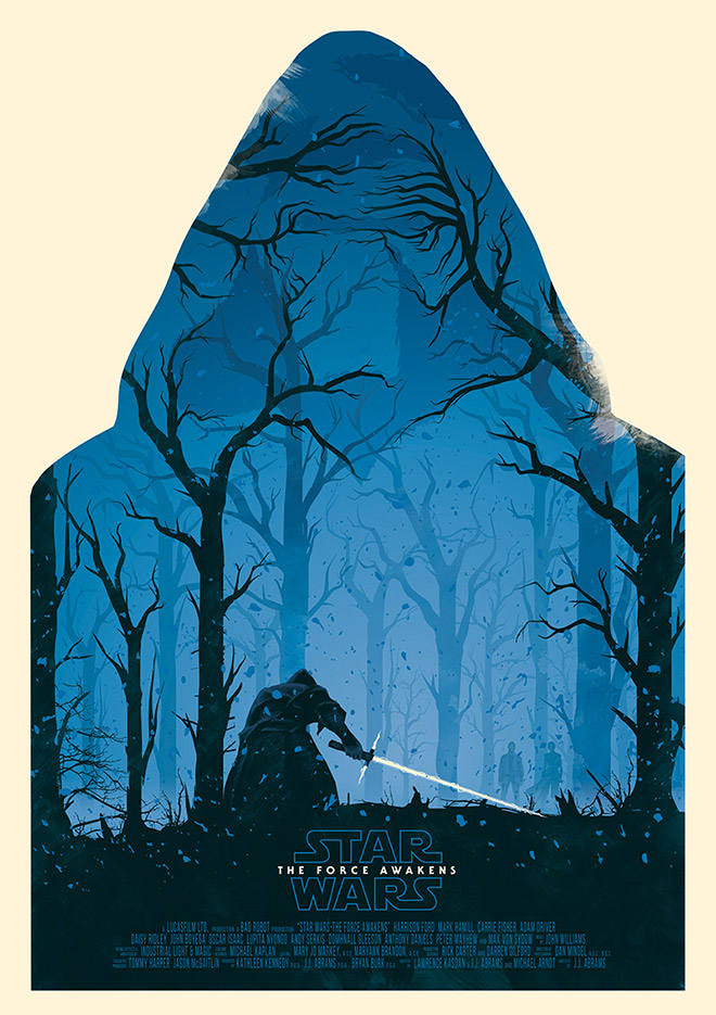 Star Wars The Force Awakens by Ollie Boyd