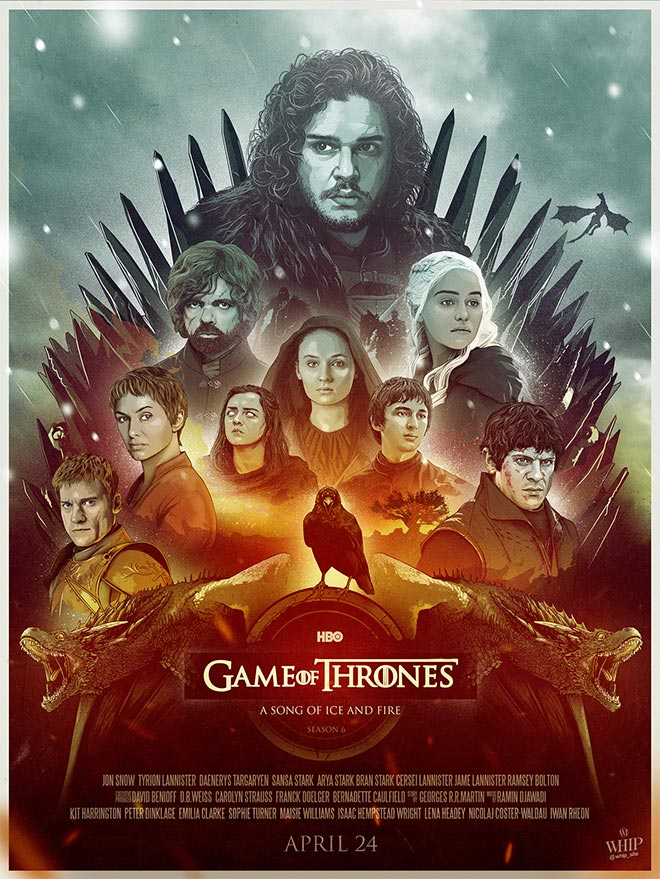 Game of Thrones by Souliers Maxime