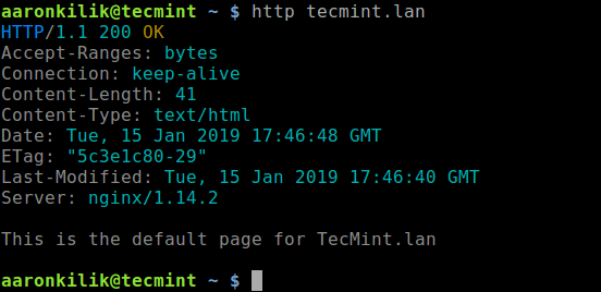 HTTPie – A Modern HTTP Client Similar to Curl and Wget