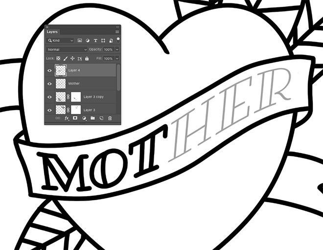 How To Create Old School Style Tattoo Art in Adobe Photoshop -