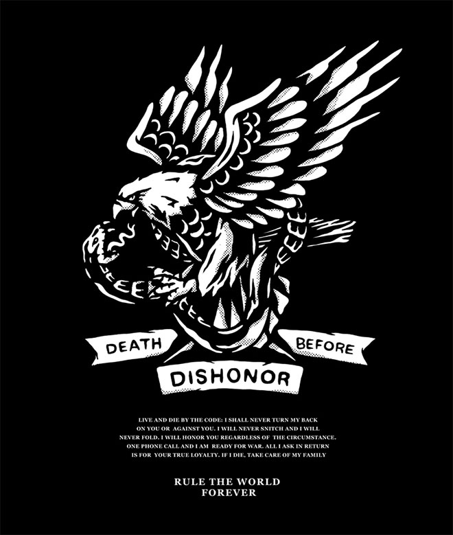 Death Before Dishonor by Buttery Studio