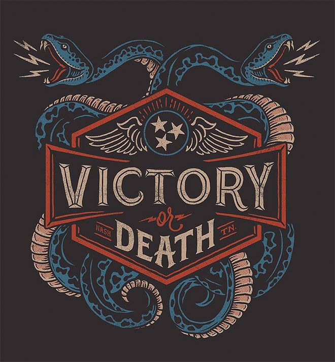 Victory or Death by Derrick Castle